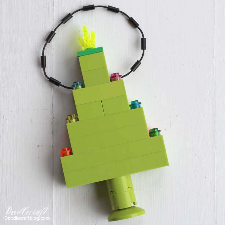 Lego Christmas Tree Ornament DIY