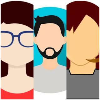 avatar penulis di atas setiap postingan blogger