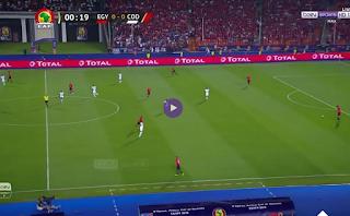 مباشر مصر وجمهورية الكونجو فى بطولة الامم الافريقية 2019
