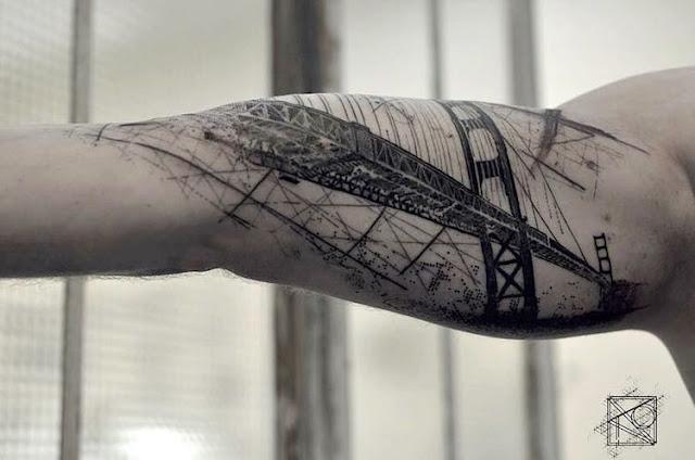 tatuajes-de-arquitectura-creativos