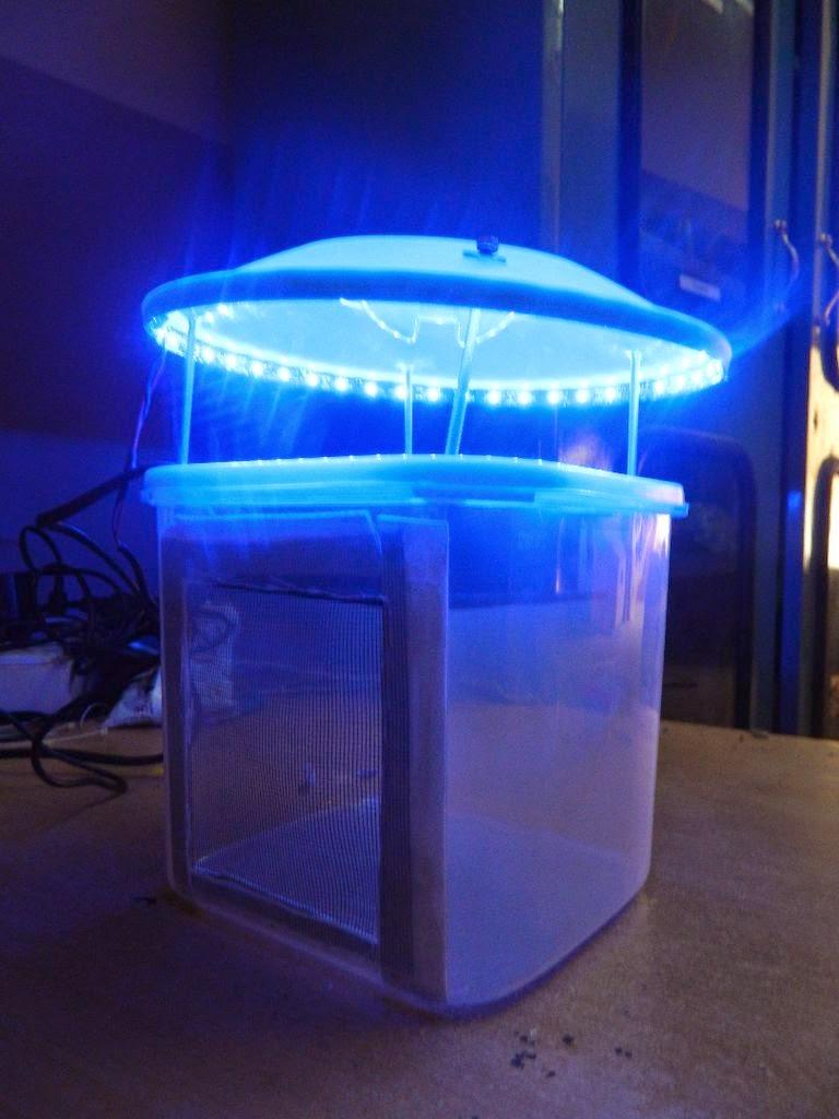 Membuat Perangkap Nyamuk Elektronik