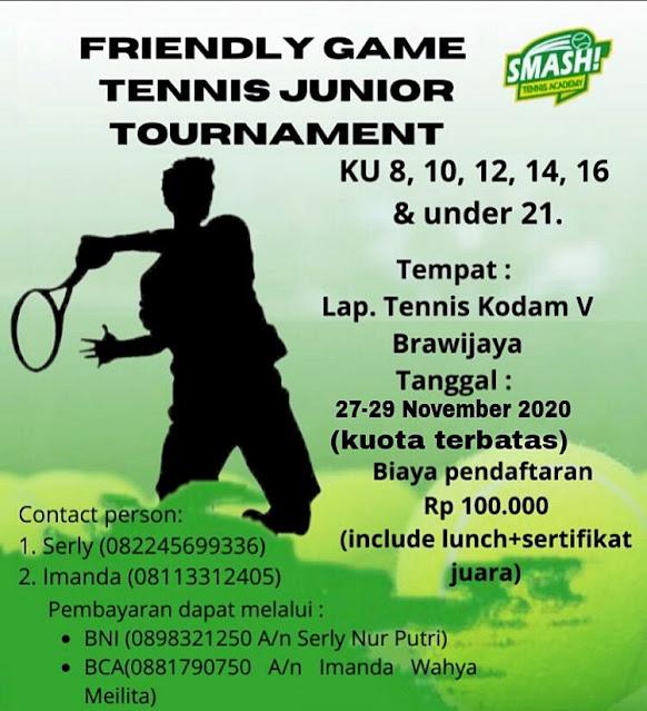 Friendly Game Tennis Junior Tournament