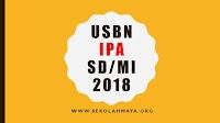 Contoh Soal USBN IPA SD/MI Berdasarkan Indikator pada Kisi-kisi USBN 2018