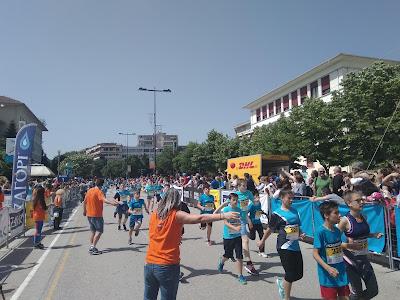 RUN GREECE- Εκατοντάδες αθλητές όλων των ηλικιών στους αγώνες