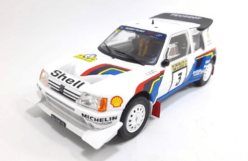WRC collection 1:24 salvat españa, Peugeot 205 Turbo 16 EVO 2 1:24