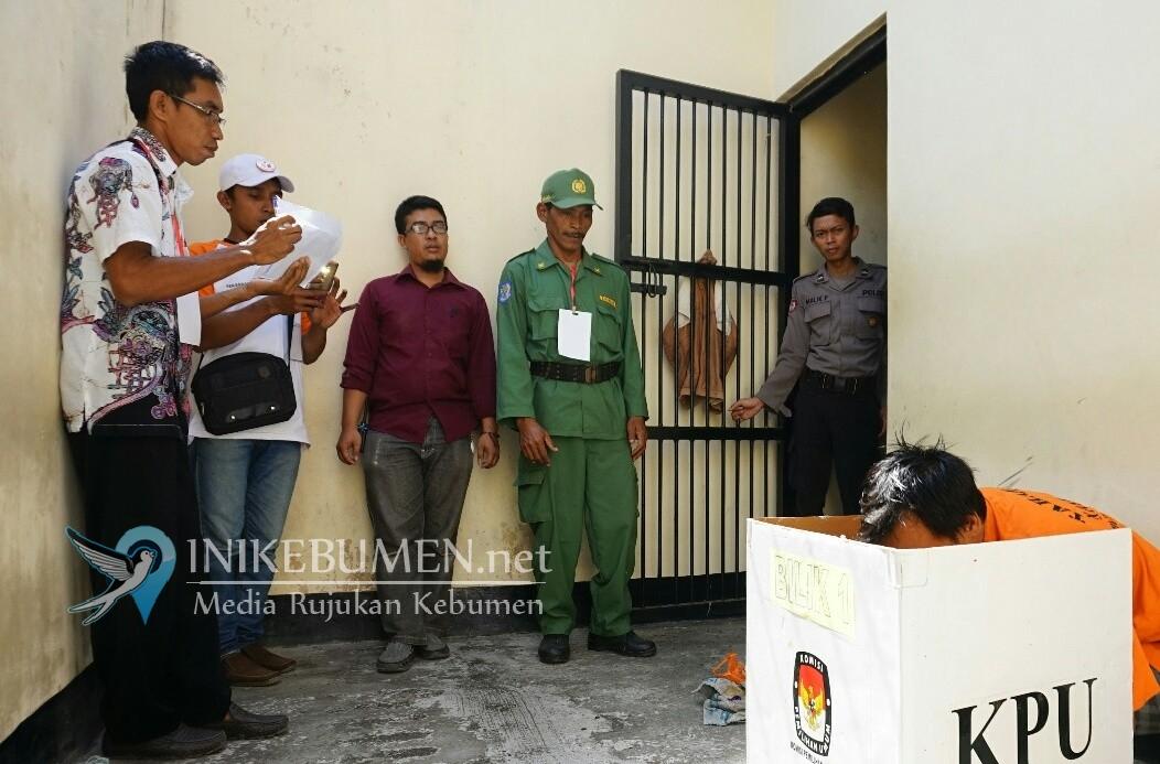 Tersandung Kasus Pidana, Tiga Orang Nyoblos di Tahanan Polres Kebumen