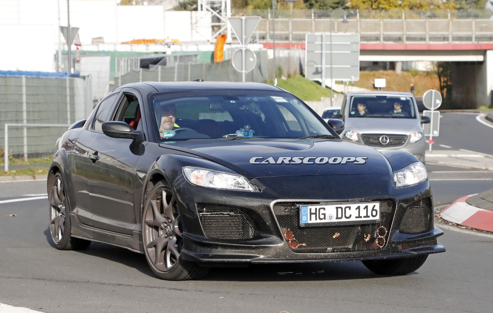Mazda Spied Testing RX-8 Powertrain Mule For Possible RX-9 - Page 2