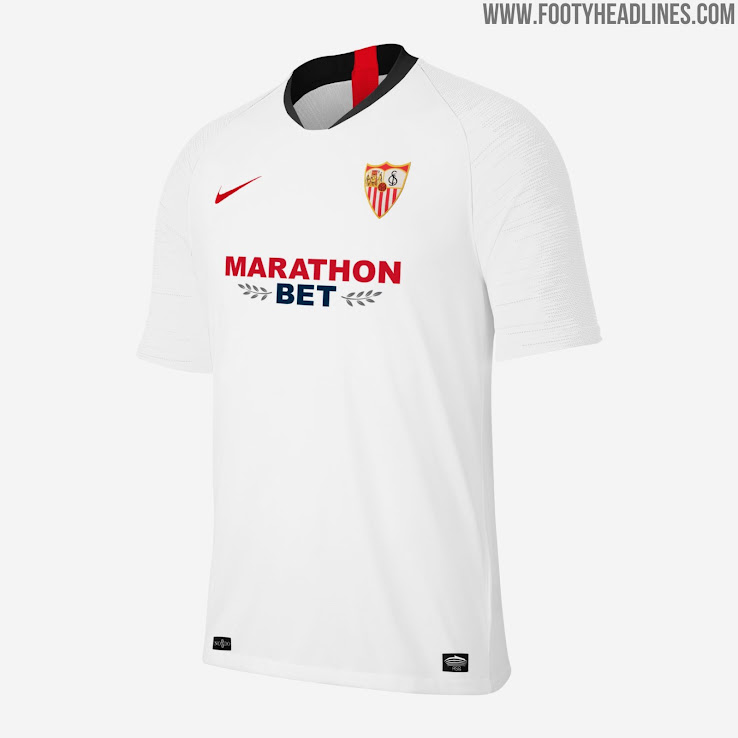 Sevilla 19 20 Home Away Third Kits Revealed Footy Headlines