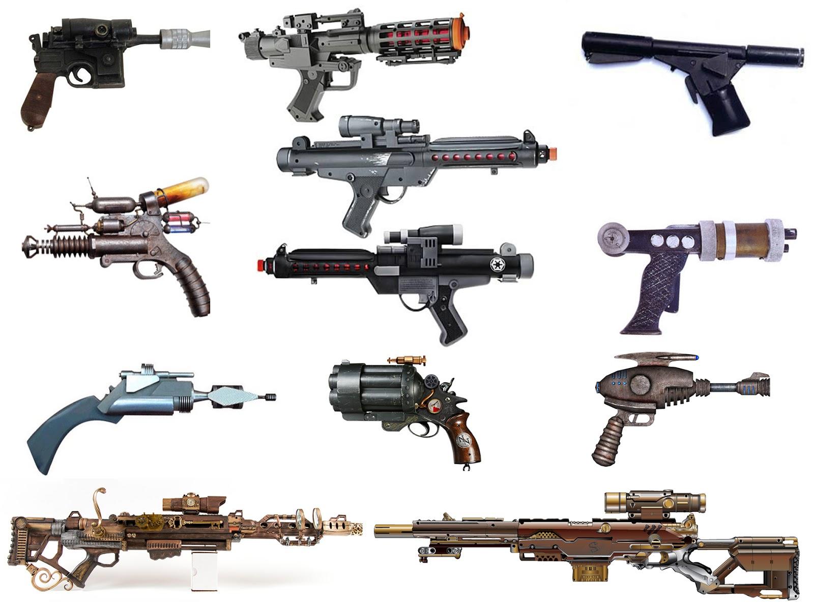 Hayden Wakeling Gaming: Futuristic Gun Designs