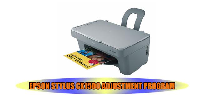 Epson Stylus CX1500 Printer Adjustment Program