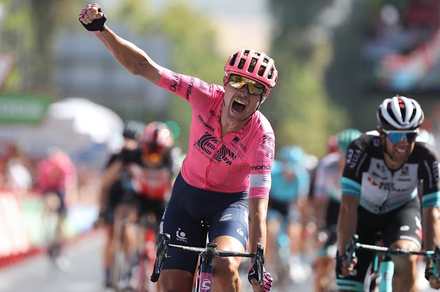 Magnus Cort vence 12ª etapa da Vuelta a España - Foto: Photo Gomez Sport / La Vuelta