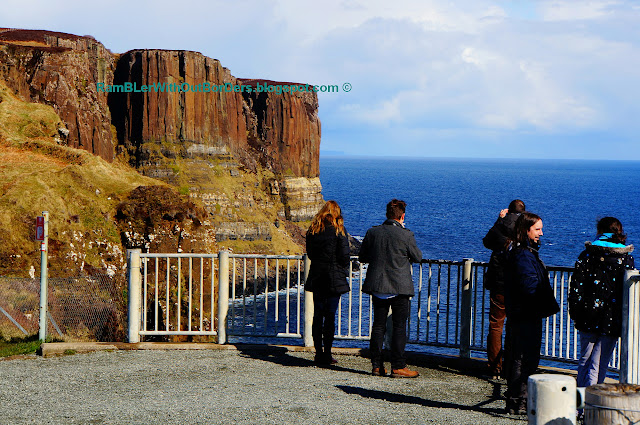 Kilt Rock lookout, Isle of Skye, Scotland, UK