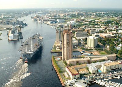 Portsmouth Virginia - The Harbor