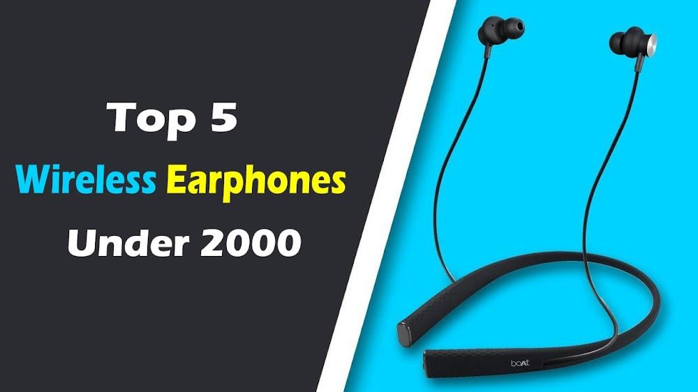 Wireless Earphone Under 2000 Best Gadgets