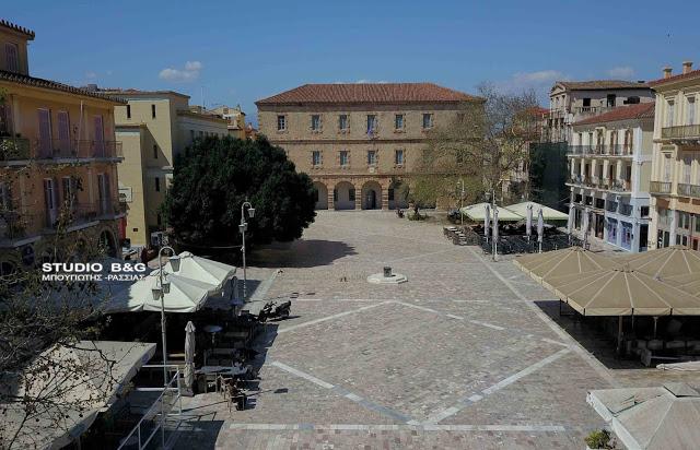 Στο Δίκτυο Αιωνόβιων Δέντρων της Ελληνικής Επανάστασης ο πλάτανος της Πλατείας Συντάγματος στο Ναύπλιο
