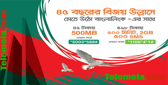 Banglalink Victory Offer 2GB Internet
