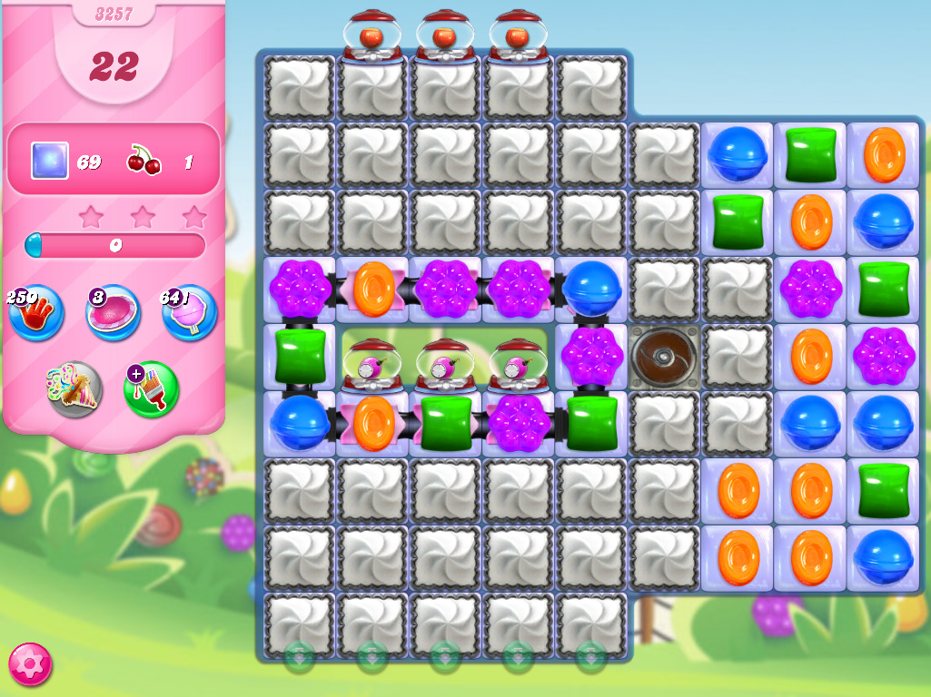 Candy Crush Saga level 3257