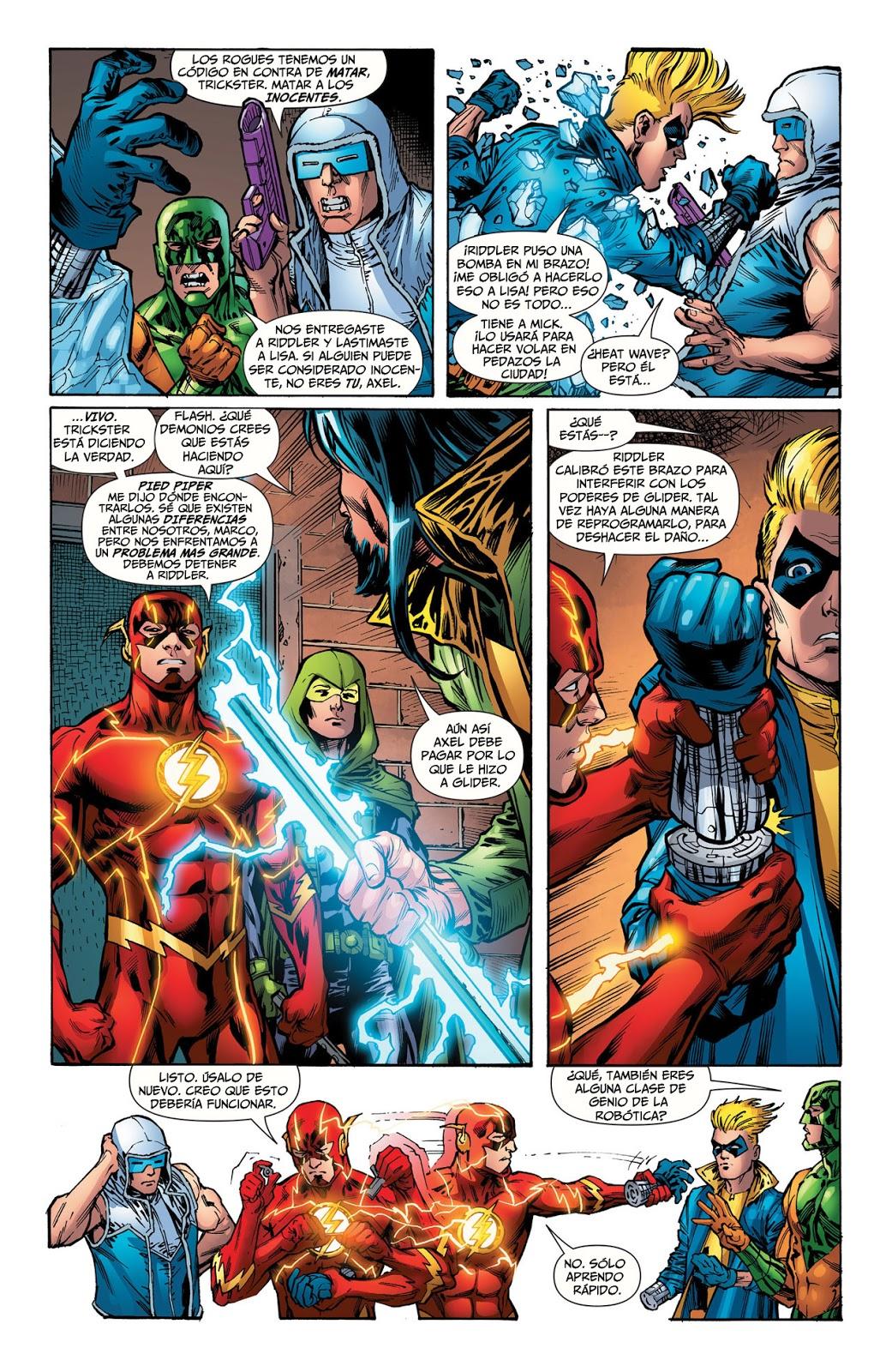 COMIC BOOK FAN AND LOVER: FLASH: PUNTO - DC COMICS