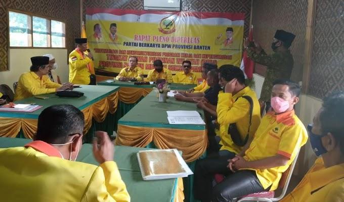 Mantapkan Kepengurusan, DPW Partai Berkarya Banten Gelar Rapat Pleno