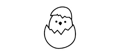 Q 1. It looks like a bird has hatched from its egg. I wonder what kind of bird it is?