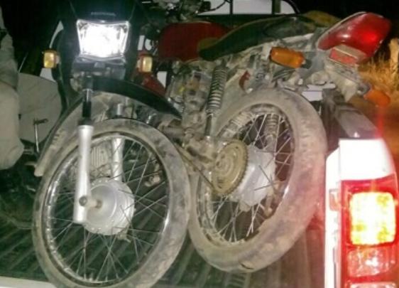 Em Santana do Ipanema, Polícia Militar  recupera duas motos roubadas