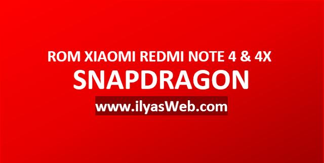 Kumpulan ROM Xiaomi Redmi Note 4 Snapdragon dan 4X Qualcomm