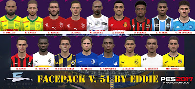 PES 2017 Facepack v51 by Eddie Facemaker