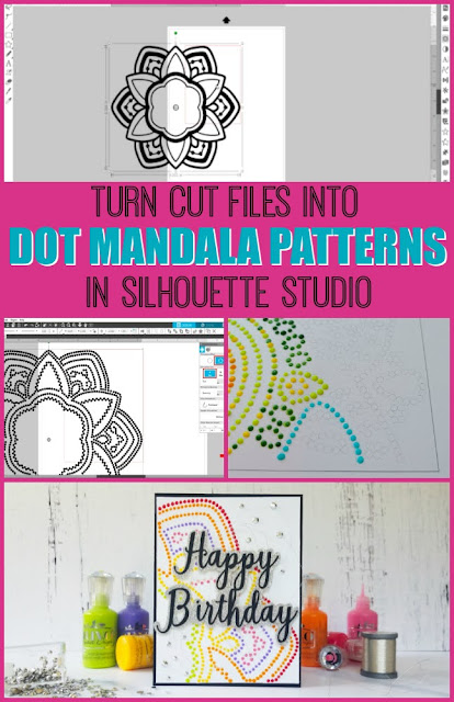 silhouette 101, silhouette america blog, rhinestones, mandalas, silhouette studio design tools