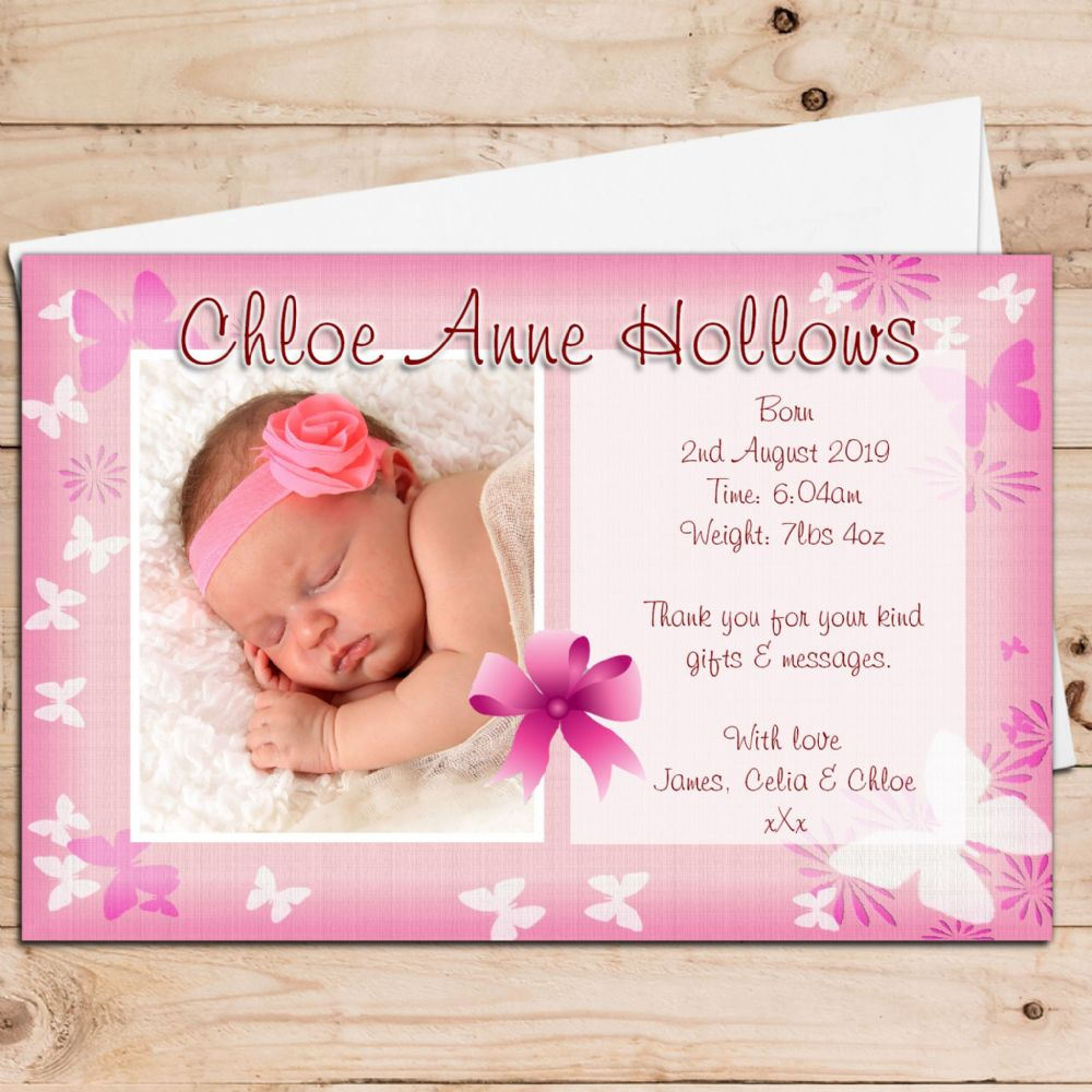 Birth Announcement Quotes Baby Girl Birth Announcement Quotes  Okl.mindsprout.co