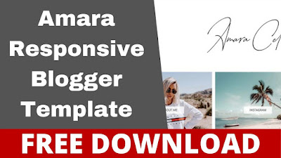 Download Amara - Responsive Fashion, Travel Blogger Template