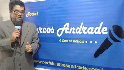 Mensagem do jornalista Marcos Andrade aos amigos paraibanos