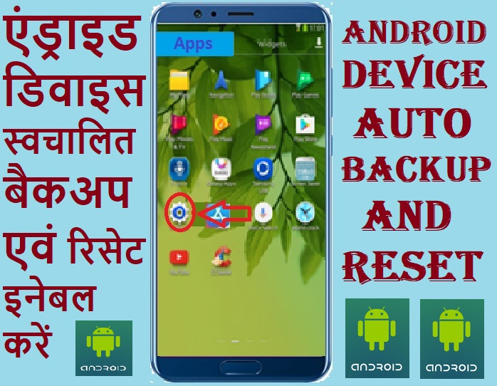 HOW TO SET AUTOMATIC BACKUP AND RESET IN ANDROID DEVICE