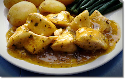 Chicken with Orange and Mint