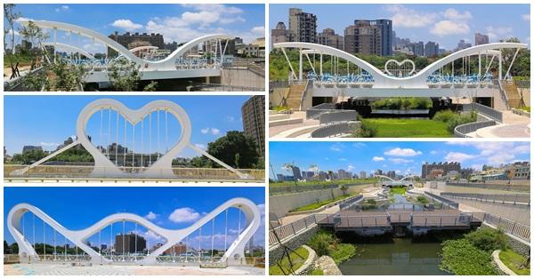 台中南區|生態景觀渠道|結合當地特色景觀橋|崇倫橋|西川橋|玉音橋