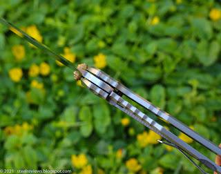 Sanrenmu Land 820 titanium & VG10