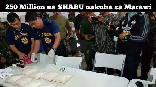 2sr3m2L BREAKING NEWS:250 Million na SHABU nakuha sa MARAWI City! Panoorin!