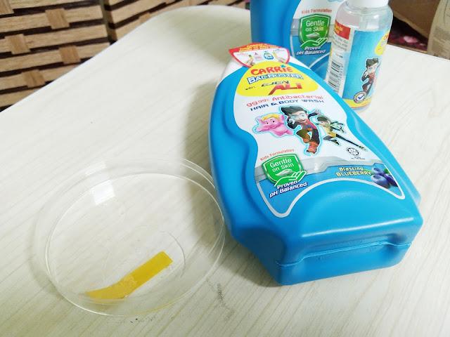 sabun selamat untuk kanak-kanak dan bayi