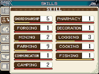 Skill Crafting Rune Factory I : A Fantasy Harvest Moon