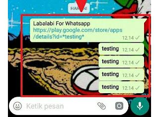 Cara Bom Chat Group Whatsapp Terbaru Menggunakan Aplikasi Labalabi