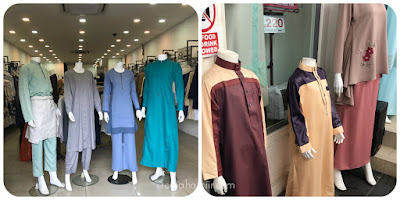 Shopping baju raya