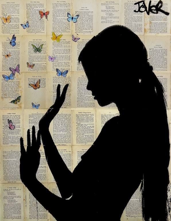 05-Butterfly-Days-Loui-Jover-Drawings-on-Book-Pages-www-designstack-co