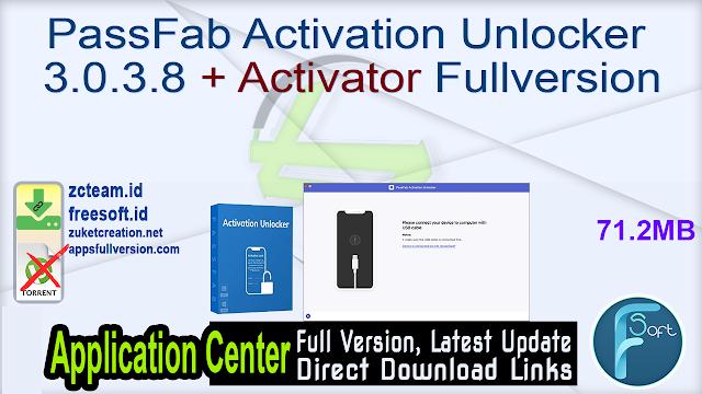 PassFab Activation Unlocker 3.0.3.8 + Activator Fullversion