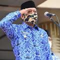 Hadiri Upacara HKN, Kaswadi Pamit Dihadapan Jajarannya