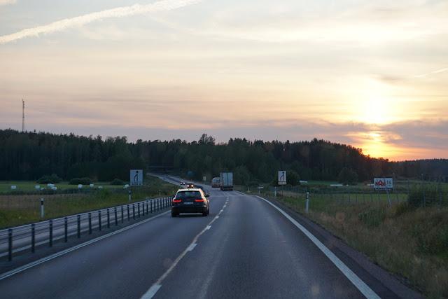 Estrada entre Estocolmo e Oslo
