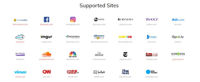 keepvid supported sites