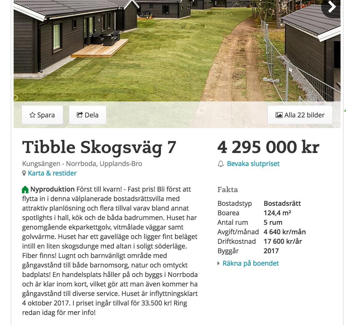 Bostaderna saljs snabbare och priserna okar