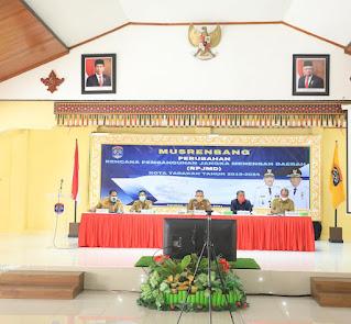 Buka Musrenbang Perubahan RPJMD 2019-2024
