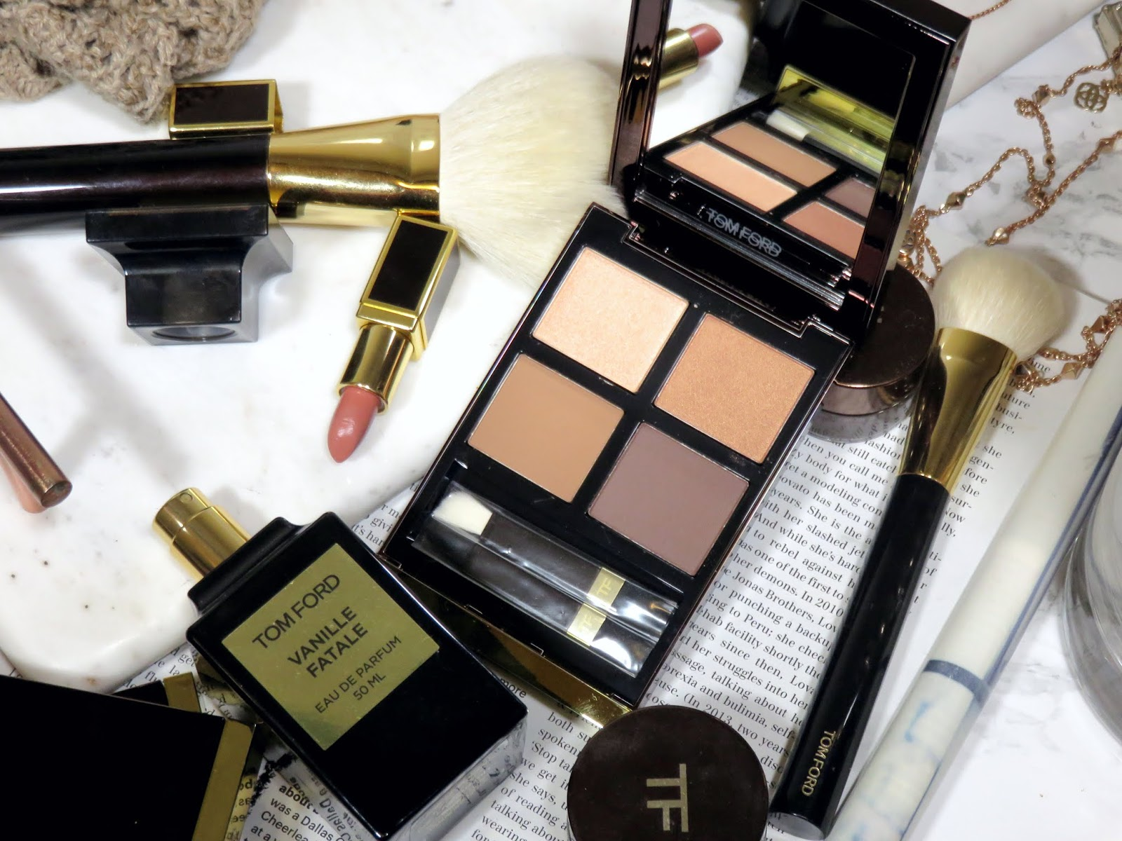 Tom Ford De La Creme Eye Color Quad