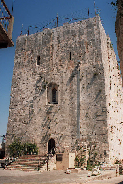 Knights' Hall built by the Crusaders discovered in Western Syria