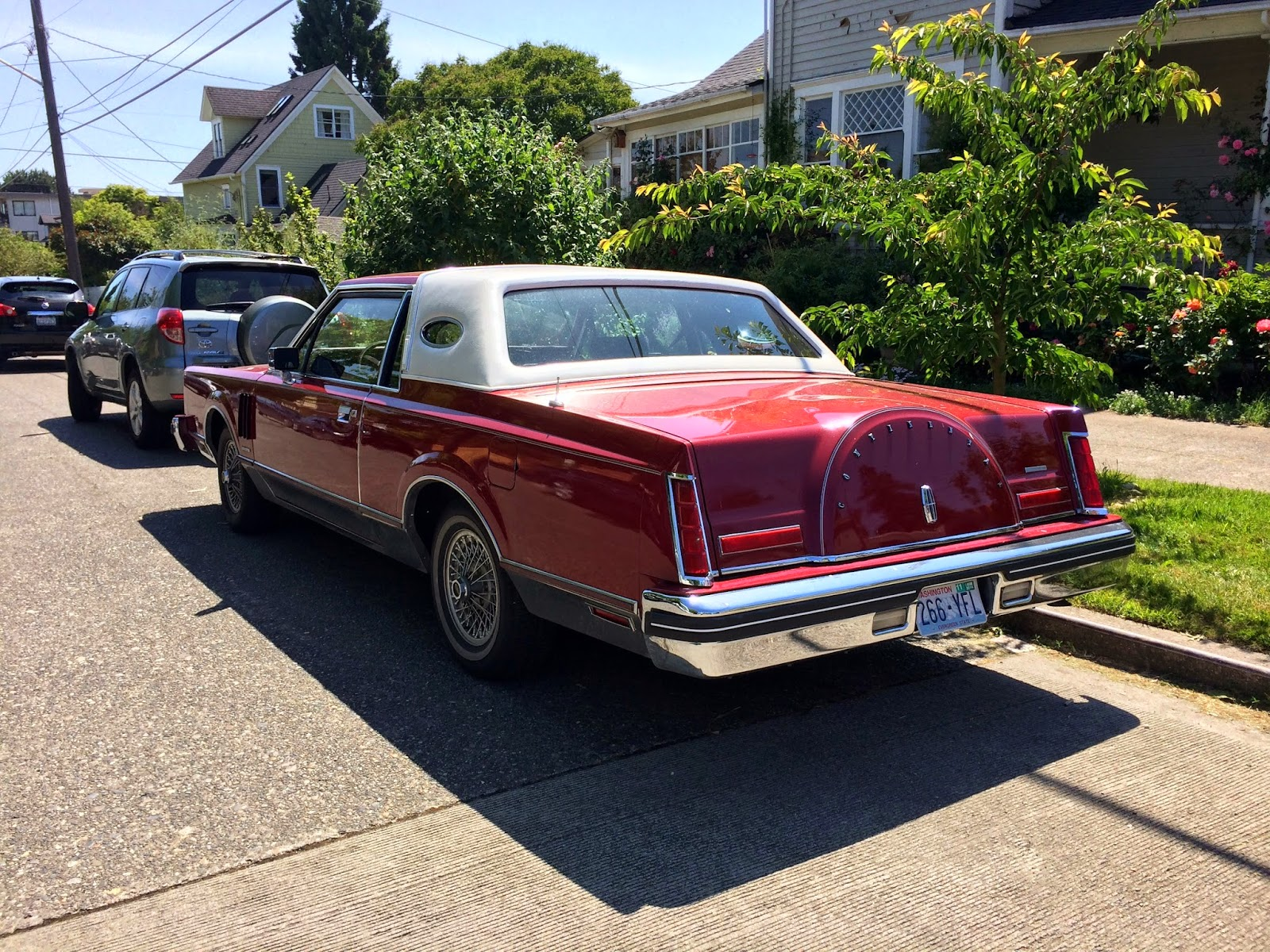 Seattle's Classics: 1980 Lincoln Continental Mark VI
